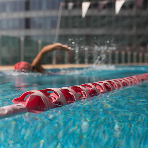 close-up image of Fitness First swimming pool